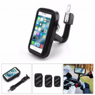 Motorcycle Bike Scooter Mobile Phone Holder Bag Stand Case for Smartphones