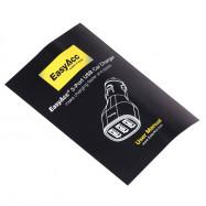 EasyAcc 11CAR2U1C5A 12 - 24V Car Charger 25W Dual USB Output Power Supply