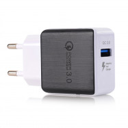 QC 3.0 5V/3A Quick Charge EU Plug USB AC Wall Charger