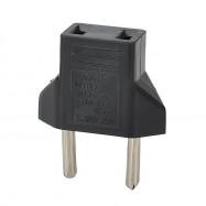Minismile 3PCS Universal 6A US Socket to EU Plug Power Adapter / Charger Kit