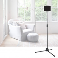 Portable Phone Holder Stable Floor Stand Tripod Racks