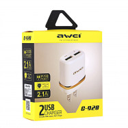 Awei C - 920 2 USB Multifunctional Charger Adapter US Plug