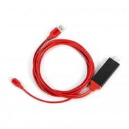 HDTV TV Digital AV Adapter USB HDMI 1080P Converter Cable for iPhone 7Plus / 7