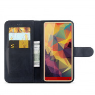 Left and Right Card Wallet Type Mobile Phone Case for HOMTOM S12