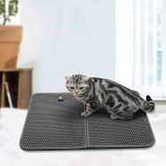 Household Portable Double-layer Cat Litter Padding Mat