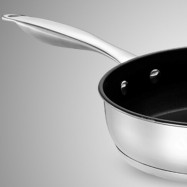 Durable Multipurpose Stainless Steel Frying Pan