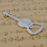 Guitar Metal Keychain Opener