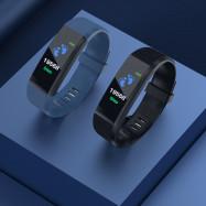 Smart Bracelet Monitoring Heart Rate Blood Pressure Waterproof Watch Pedometer