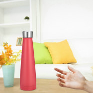 Double Layer Vacuum Cone Stainless Steel Thermos Cup