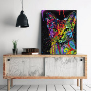 Modern Framless Canvas Print for Home Office Wallart Decoration