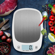 Food Electronic Kitchen Scale Stainless Steel Measure Tool