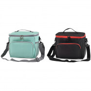 Insulated Lunch Box Bag with Oxford Cloth
