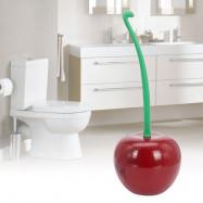Creative Lovely Cherry Shape Toilet Brush