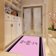 Mat  Antislip Simple Pattern Cozy Bedroom Home Decoration