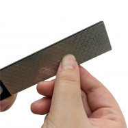 Mini Double Sided Pocket Diamond Whetstone Knife Sharpener Abrasive Tool