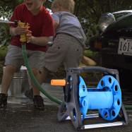 Hose Reel Water Pipe Storage Rack Portable Shelf Bracket for Garden Farm