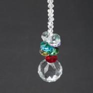 Crystal Glass Pendant Ceiling Light Wedding Decoration Curtain Bead