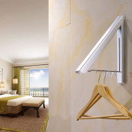 Invisible Clothes Hanger Aluminum Folding Drying Rack