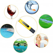 Digital PH Meter Tester Best for Water Aquarium Pool Hot Tub Hydroponics Wine