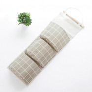 3PCS Cabinet Wall Hanging Multi-Layer Wall Hanging Storage Bag