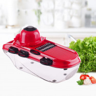 Multifunctional Fruit Vegetable Cutter Food Shredder with 7pcs Blades