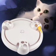 Funny Cat Toy Electric Cat Catching Mouse Tray