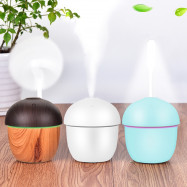 USB Air Humidifier with Fan LED Night Light for Home Office