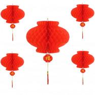 New Year'S Day Spring Festival Wedding Decoration Red Lanterns Hanging Decoratio