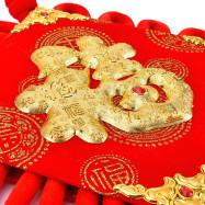 Fuzi Town House Background Wall Festive Decoration Chinese Knot Hanging