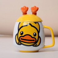 Lovely 3D Duck-Feet Cup Coffee Mug Cute Cartoon Ceramics Cup
