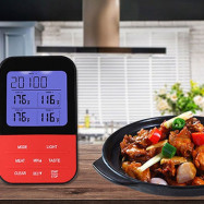 JJ0194 Double Probe Wireless Grill Thermometer