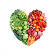 3D Wall Sticker Creative Valentine's Day Vegetable Fruit Heart