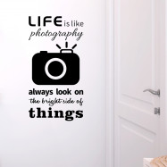 Camera Removable PVC Wall Sticker