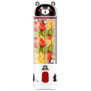 KUMAMON Single Layer High Borosilicate Glass Juicer