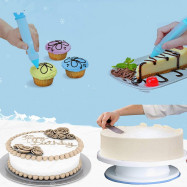 Cake Turntable Decorating Mouth Set