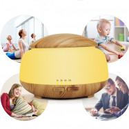 Remote Control 300ML Essential Oil Diffuser Wood Grain Aromatherapy Humidifier