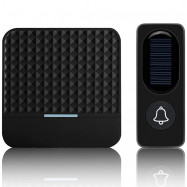 F9 Waterproof Energy Saving Wireless Solar Doorbell