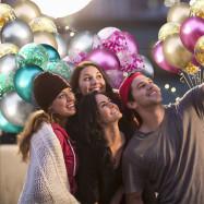 15pcs Mixed Confetti Latex Balloons Party Birthday Decoration