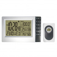Wireless Weather Station Temperature Humidity Meter Alarm Clock
