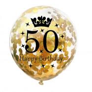 12 inch 15pcs Confetti Latex Balloon for 16th 18th 30th 40th 50th Birthday Party
