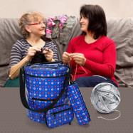 Cylinder Shape Knitting Woolen Yarn Bag Kit