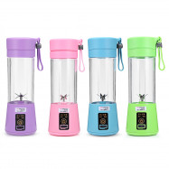 Portable Juicer USB Port Cordless 380ml Juice Smoothie Home Travel Office Bottle