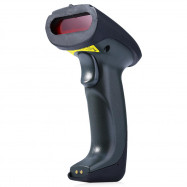 YHD - 5300 433MHz Wireless Laser Barcode Scanner Label Reader with Charger Base