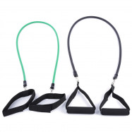 LEAJOY 11pcs / Set Natural Rubber Fitness Resistance Bands Practical Elastic Training Rope