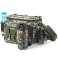 Multifunction Lure Waist Pack Fishing Tackle Messenger Bag