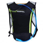 ROSWHEEL 5L Bike Hydration Backpack Ultralight Multi-functional Bicycle Bag with 2L Water Bladder