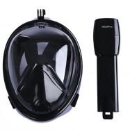 NEOpine Underwater Diving Dry Snorkeling Full Face Mask Set