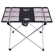 Portable Outdoor Ultralight Foldable Table with Oxford Fabric for Camping Fishing Picnic