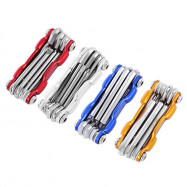 7 in 1 Multifunctional Folding MTB Cycling Repair Tool Screwdriver Hex Wrench Allen Key