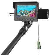 Fish Finder Underwater LED Night Vision Fishing Camera 15M Cable 1000TVL 4.3 inch LCD Monitor
